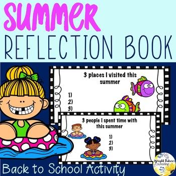 My Summer Reflection Book