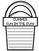 Summer Writing Papers for Primary Grades