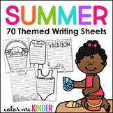 Back-to-School Writing Papers and Craft Activity