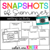 Snapshots of Summer Memory Book