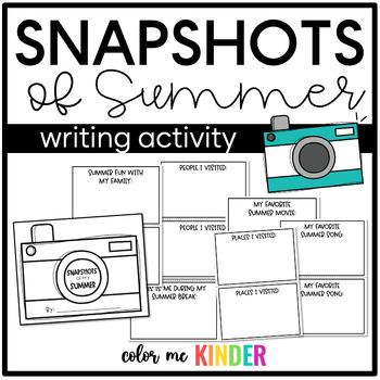 Snapshots of Summer Memory Book