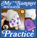 My Summer Speech Therapy Practice Book: Articulation