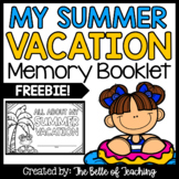 My Summer Vacation Booklet