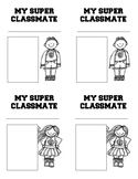 My Super Classmate Trading Card Template