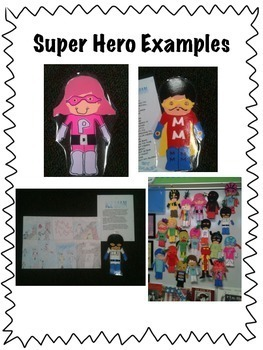 FSA or PARCC Writing Prompt:  My Super Hero IS Super!