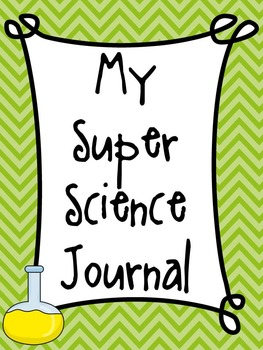 My Super Science Journal Chevron Edition
