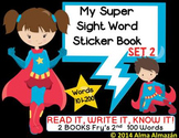 My Super Sight Word Sticker Book SET 2