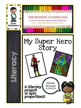 My Superhero Story (upper elementary)