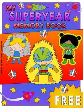 My Superyear Memory Book - FREE VERSION
