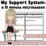 My Support System: Brief Classroom Activity for MS & HS