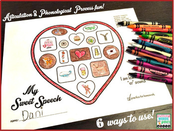 My Sweet Speech ~ for Articulation and Phonological Processes