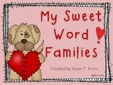 My Sweet Word Families