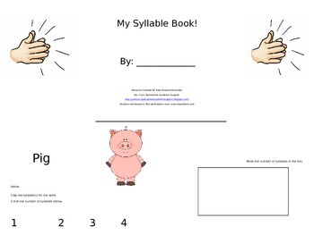 My Syllable Book!