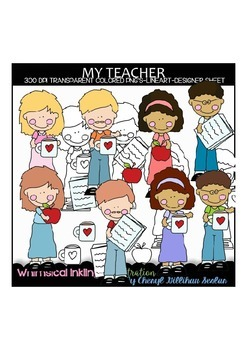 My Teacher Clipart Collection