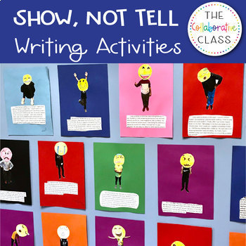 Show, Not Tell {Three Writing Activities to Engage Students}