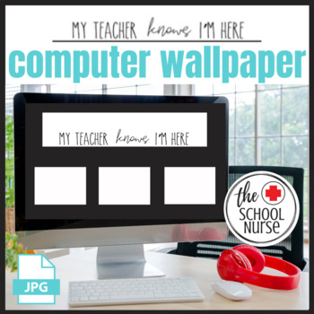 My Teacher Knows I'm Here desktop wallpaper image