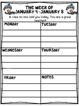 My Teacher Planner