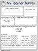 Teacher Survey: A Questionnaire for Students