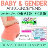 My Teacher is Having a Baby: Announcement & Gender Reveal