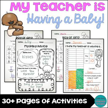 My Teacher is Having a Baby! Classroom Activities