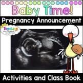 My Teacher is Having a Baby Activities and Class Book   Pregnancy Announcement