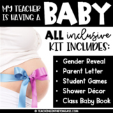 My Teacher is Having a Baby | Teacher Pregnancy & Baby Shower Printables