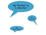 My Teacher is a Monster Book Companion