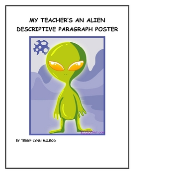 My Teacher is an Alien Descriptive Poster