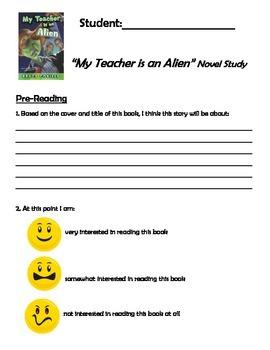 My Teacher is an Allien - Bruce Coville - Novel Study