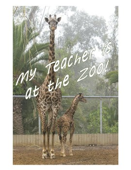 My Teacher is at the Zoo!: A Breakout Box Activity