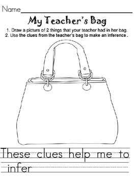My Teacher's Bag Inferences