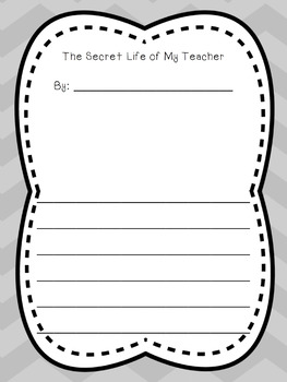 My Teacher's Secret Life Creative Writing