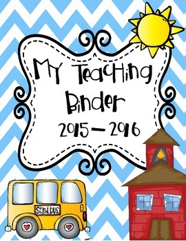 My Teaching Binder! By The 2 Teaching Divas