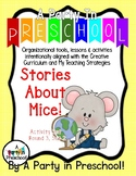 My Teaching Strategies Activities Set Round 3, Set 2- Stories about Mice!