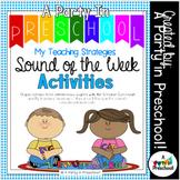 My Teaching Strategies Sound of the Week Activities