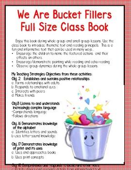 My Teaching Strategies  We are Friends &  Bucket Fillers  Round 1, Set 2