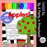 Apples!  My Teachings Strategies Activity Set Round 1, Set 3-   Apples!