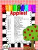 Apples!  My Teachings Strategies Activity Set Round 1, Set 3-   Apples!