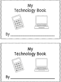 My Technology Book - A Trace and Color Emergent Reader