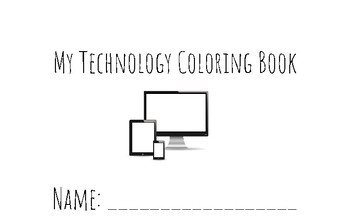 My Technology Coloring Book