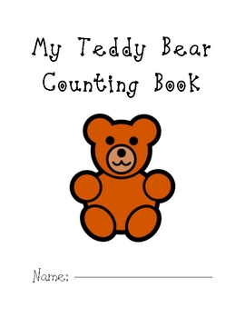 My Teddy Bear Counting Book