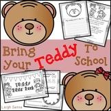 Bring Your Teddy Bear to School