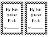 My Teen Number Book