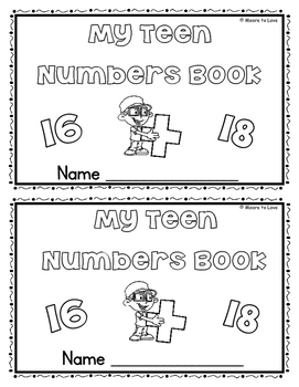 My Teen Numbers Book