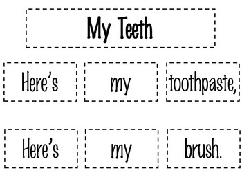 My Teeth Poetry Pack