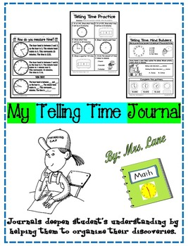 My Telling Time Journal