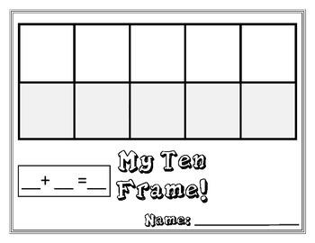 My Ten Frame Mats!