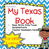 My Texas Book Symbols and Facts for Pre-K and Kinder