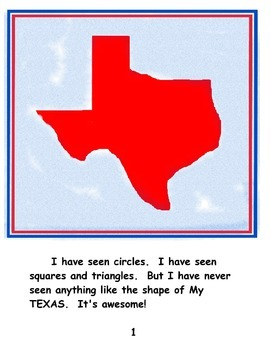 """Texas - """"My Texas"""" book - symbols, facts and history"""