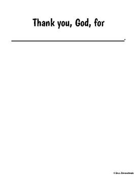 My Thank You Book Freebie